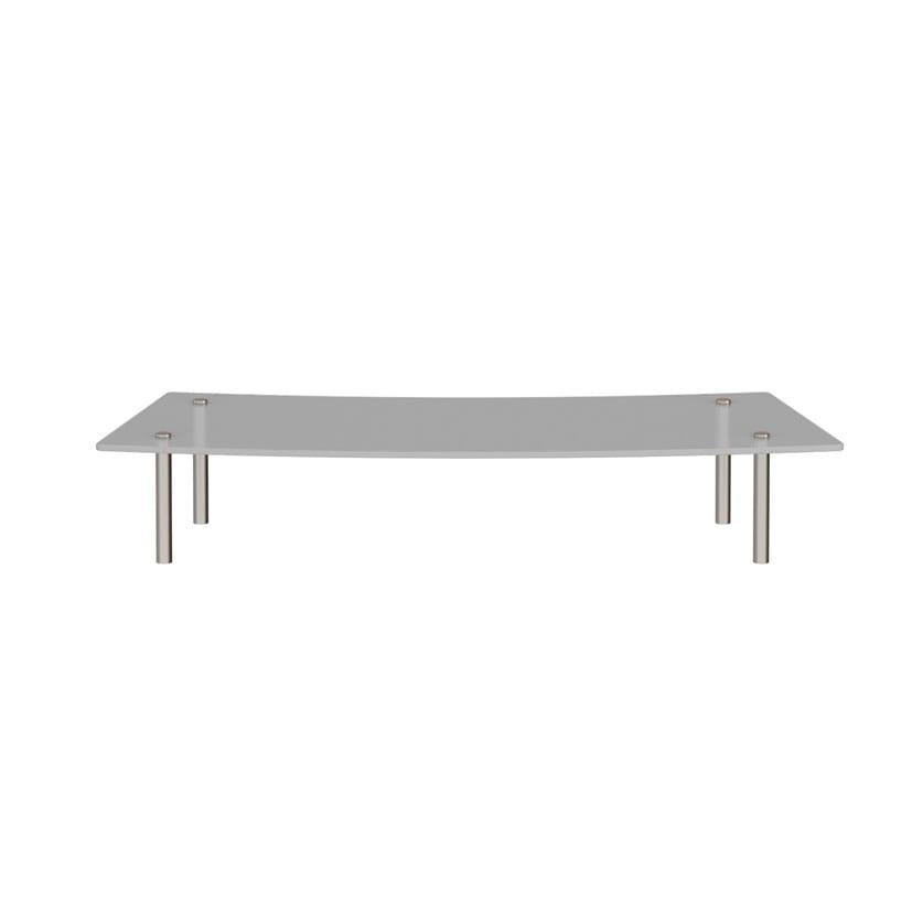 Curved Glass Shelf