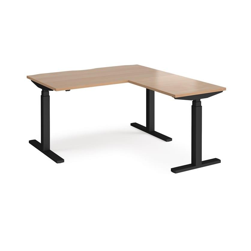 Single Desk With Return