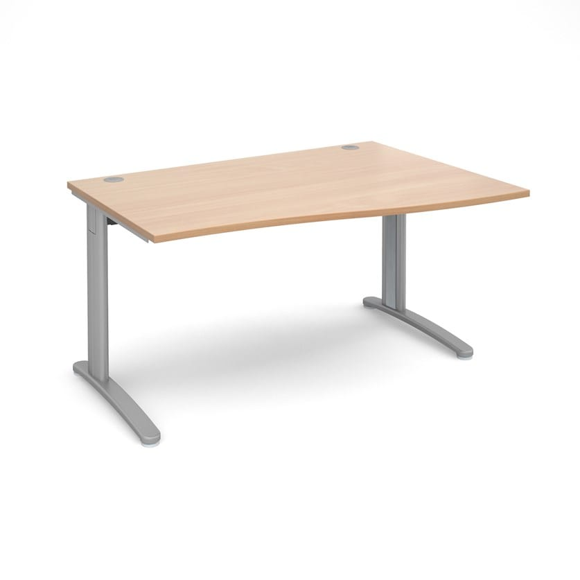 Wave Desk Right Hand